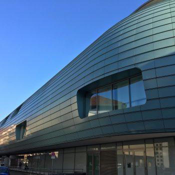 Moderne Fassade in Hannover
